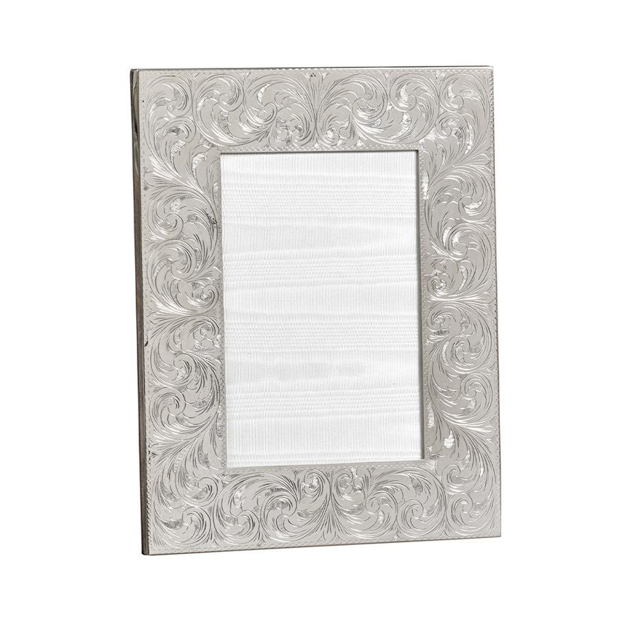 Sterling Silver Frame with Swirls | Silver Frames | Picture Frames ...