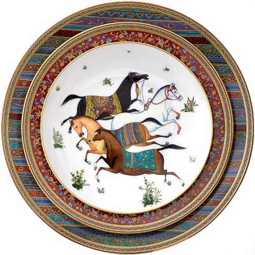 0536d23c885a Hermes Cheval dOrient   Hermes   China   Tabletop   ScullyandScully.com