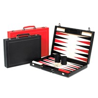 Calfskin Backgammon Set