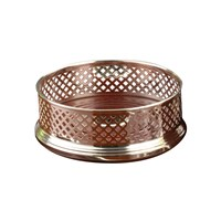 Sterling Wine Coaster Basket