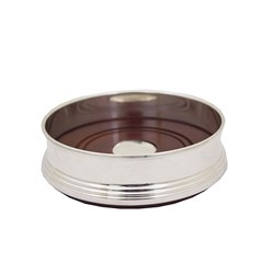 Sterling Silver Plain Wine Coaster