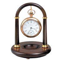 Rosewood Pocket Watch Stand