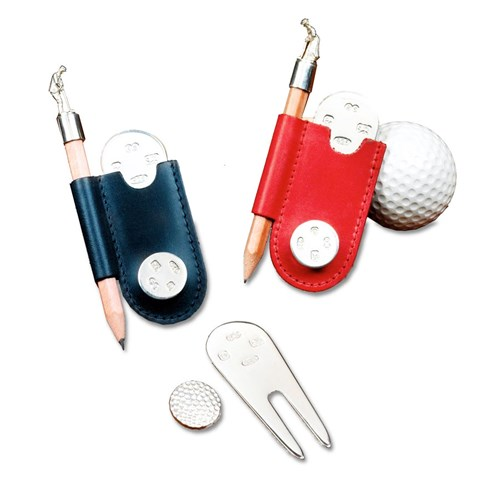 4 Piece Golf Set (Assorted Colors)