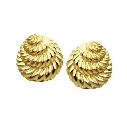 Cascading Fluted Earrings