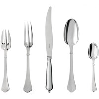"Puiforcat ""Cardinal"" Silverplated Flatware"