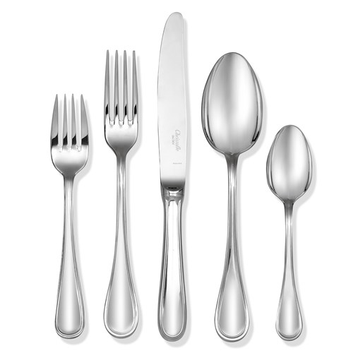 "Christofle ""Albi"" Stainless Steel Dinnerware"