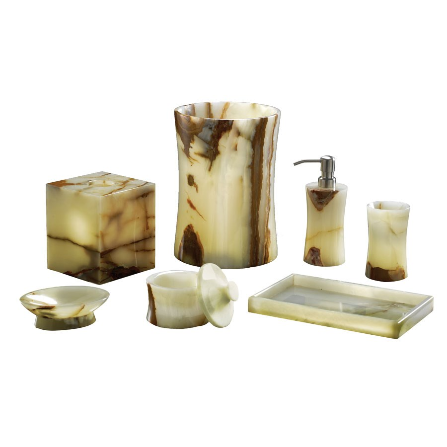 Marble And Onyx Bath Collections | Bath Accessories | Home Decor ...