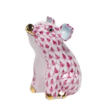 Herend Little Piggy Sitting Figurine