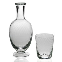 William Yeoward Quilty Bedside Carafe & Tumbler Set