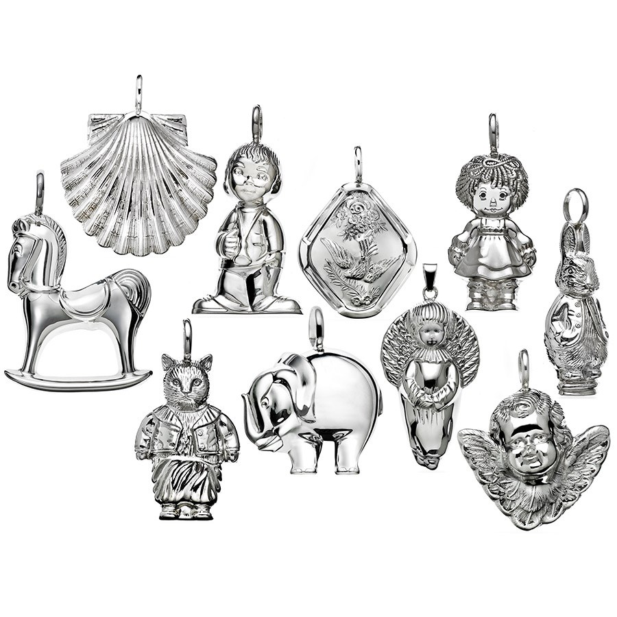Sterling Silver Christmas Tree Ornaments Click To Expand