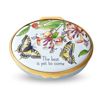 The Best is Yet to Come Enamel Box