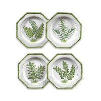 Fern Dessert Plates (Set of 4)