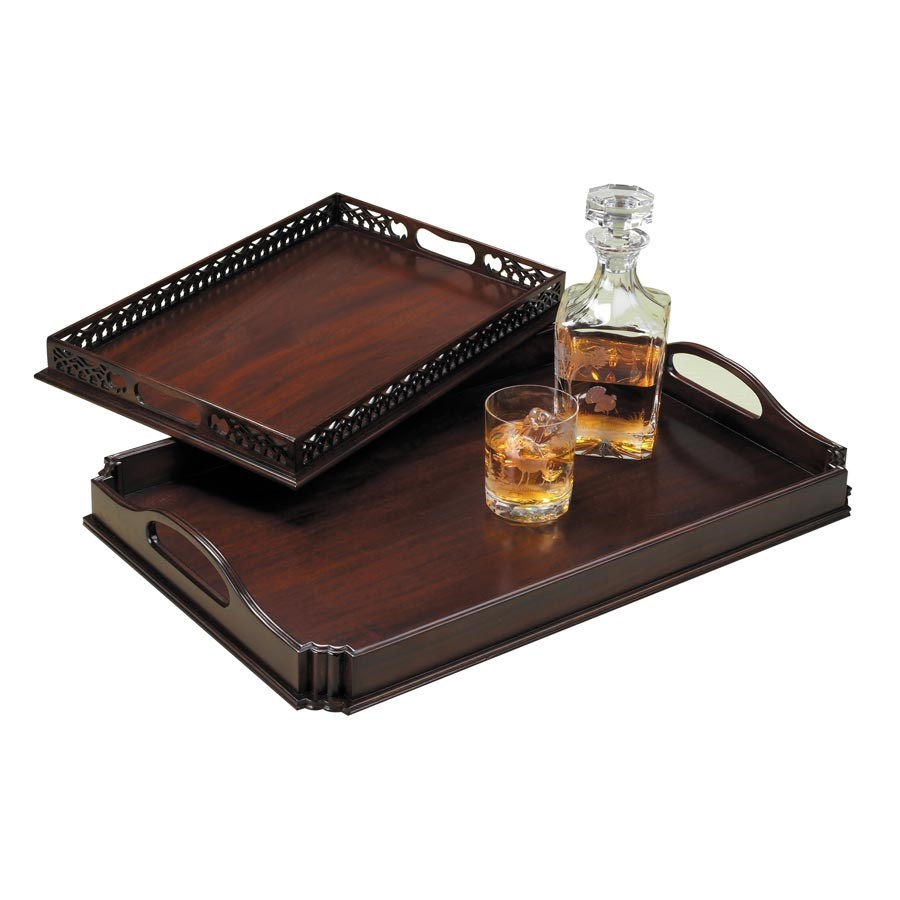 Favorite Mahogany Serving Trays | Painted, Wooden & Decoupage Trays | Home  YW57