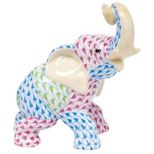 Herend Patchwork Elephant