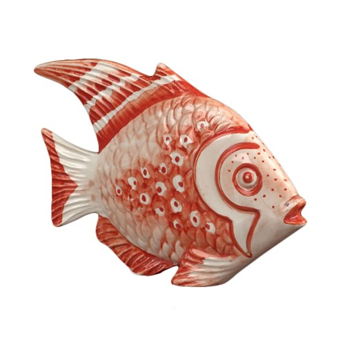 Ceramic Coral Fish, Red