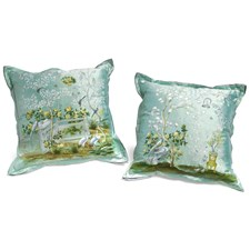 Gracie Design Silk Pillows