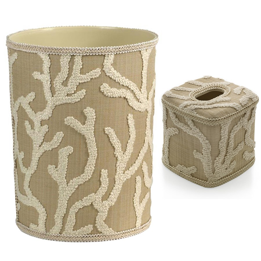 By The Sea Wastebasket Tissue Box Cover Wastebaskets Home Decor Accessories Home Decor