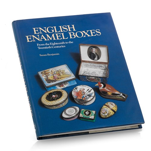 """English Enamel Boxes"" Book by Susan Benjamin"