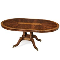 Walnut and Yew Dining Table