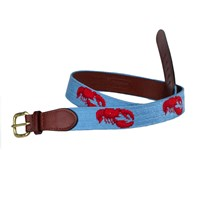 Lobster on Teal Belt