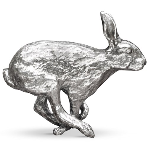 Silverplated Bronze Hare