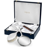 Sterling Silver Lady's Brush Set