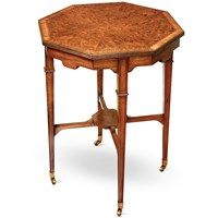 Myrtle Octagonal End Table