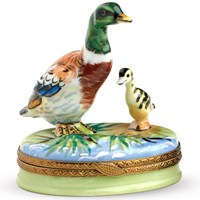 Duck Limoges Box