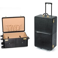 Small Leather Travel Trolleys