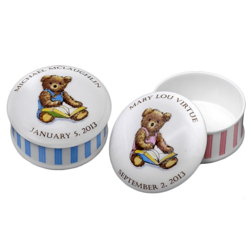 Baby Bear Personalized Boxes