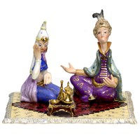Herend Miniature Princess and Prince