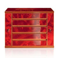 Jewelry Chest, Crimson Gold ...