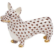 Herend Corgi Figurines