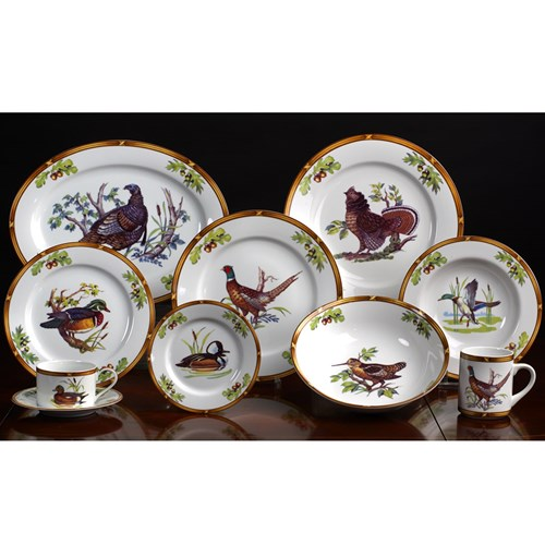Game Birds Porcelain