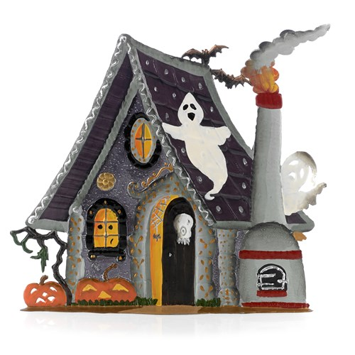 Pewter Haunted House
