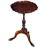 Mahogany Pie Crust Wine Tables