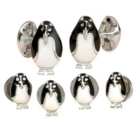 Penguin Cufflinks and Studs