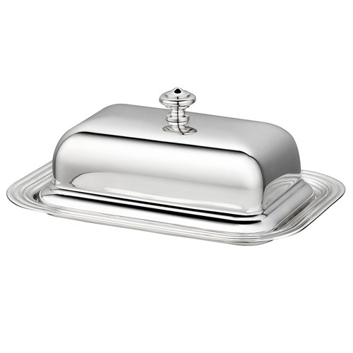 Christofle Albi Silverplated Rectangular Butter Dish