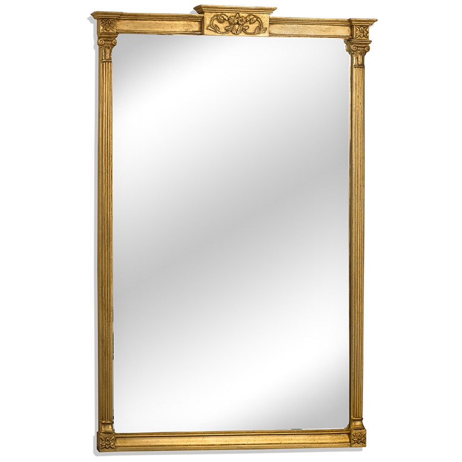 Gold leaf sheraton mirror mirrors mirrors home decor Home interiors mirrors