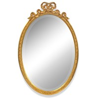 Bow Oval Vertical Mirror