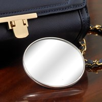 Sterling Silver Handbag Mirror