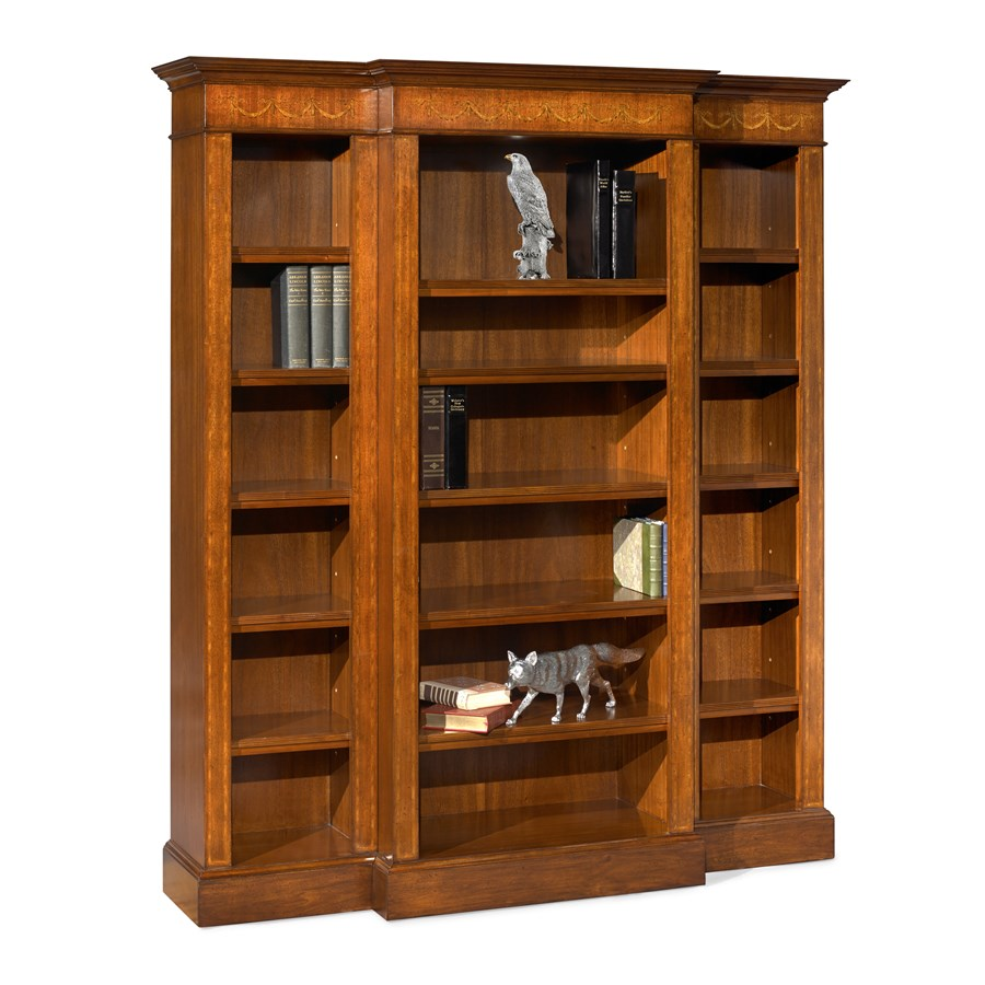 Mahogany Bookcase Extra Wide | Bookcases | Cabinets, Bookcases & Chests | Furniture ...