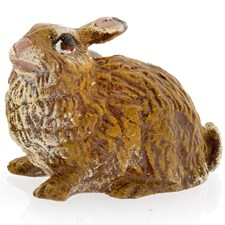 Austrian Bronze Rabbit Figurine