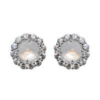 Moonstone Royale Earrings