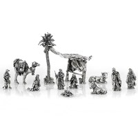 Sterling Silver Twelve-Piece Crèche Set