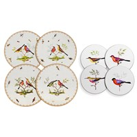 Exotic Birds Placemats and Coasters