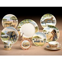 "Gien ""Safari"" Fine Earthenware"