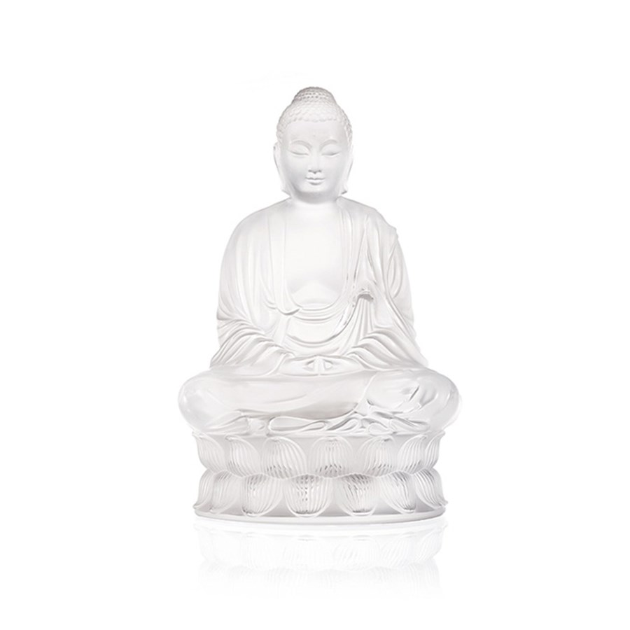 Lalique buddha sculpture clear lalique crystal crystal hover to zoom reviewsmspy