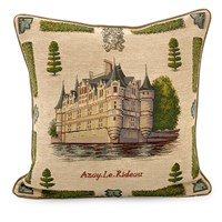 Chateaux Loire Decorative Pillows
