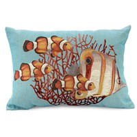 Double-Sided Fish Decorative Pillows